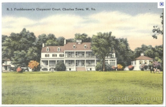 Claymont post card