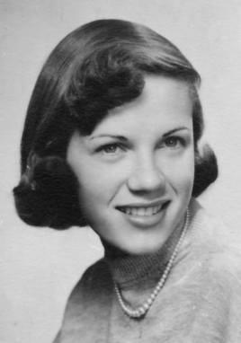 Glenda Menzies, née Strawser (1938-2012)