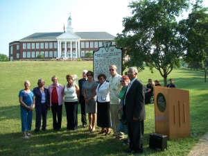 Reconciliation at Marker Unveiling