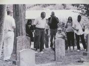 The graveyard in Earlysville