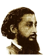 Portrait of Ramón Emeterio Betances y Alacán.