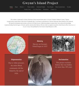 The Gwynn's Island Project (gwynnsislandproject.com) Designed by Sharon Morgan, Our Black Ancestry